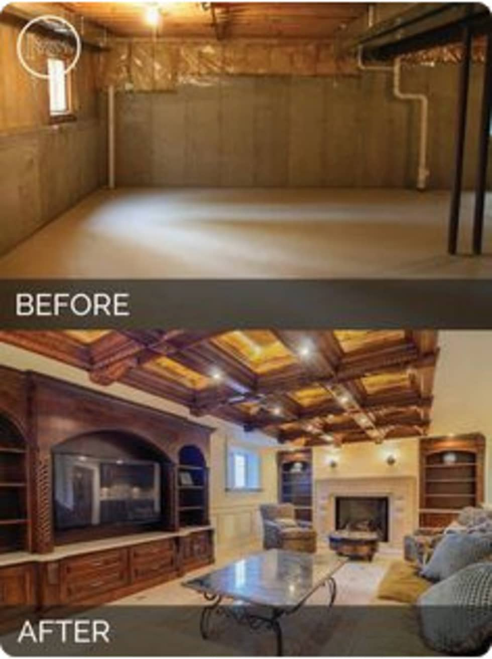 Before and After:  Walls by Nozipho Construction