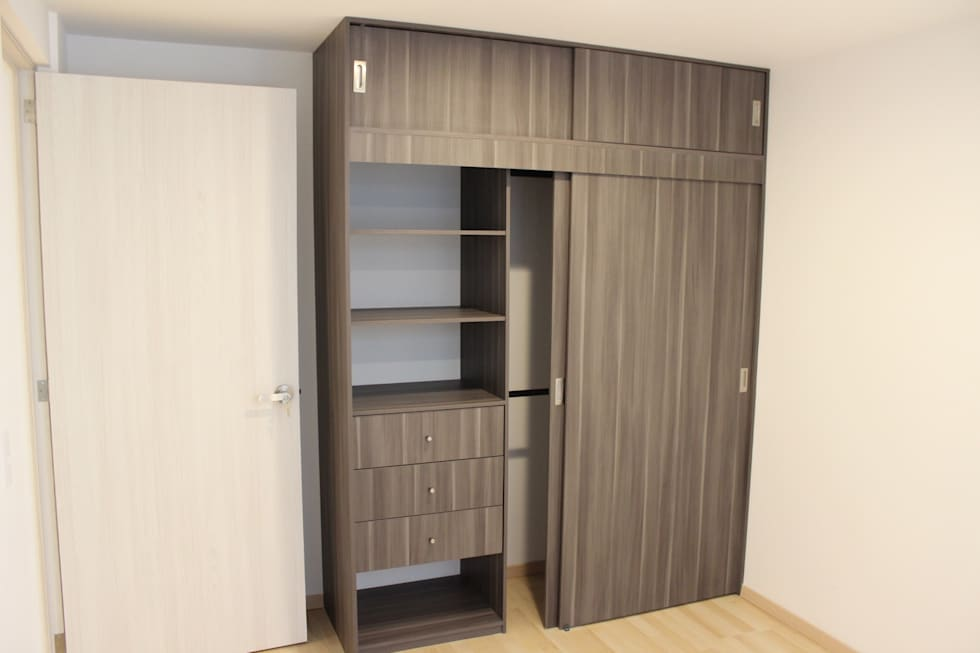 Ideas im genes y decoraci n de hogares homify for Closet en melamina modernos