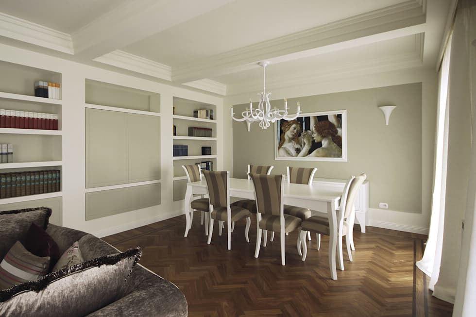Sala Da Pranzo Contemporanea : Architettura d interni in stile classico contemporaneo sala da