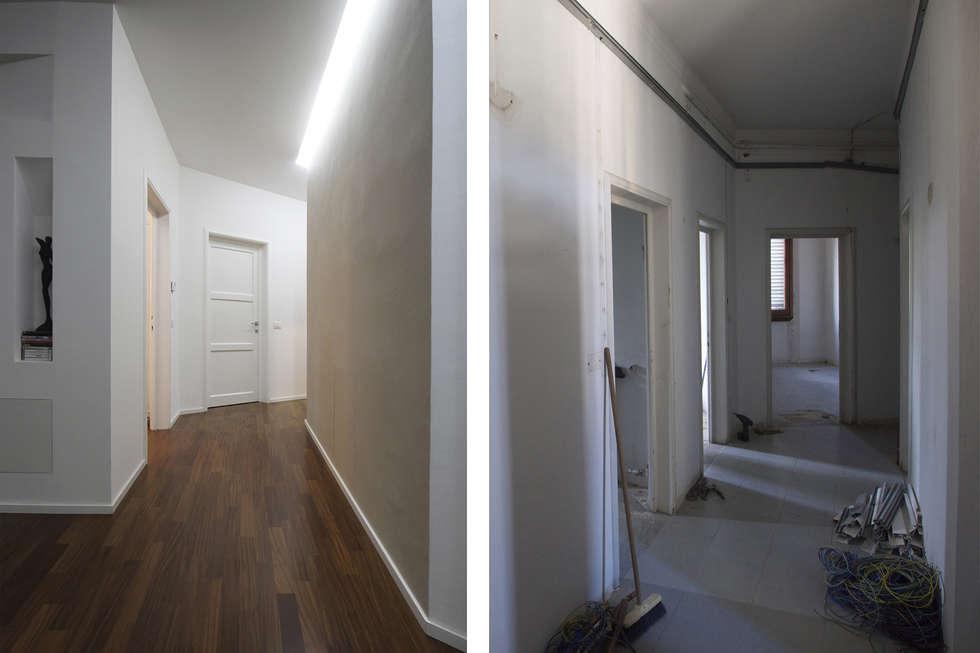 Illuminazione Corridoio Lungo E Stretto : Controsoffitto corridoio stretto: il soffitto nella foto corridoio