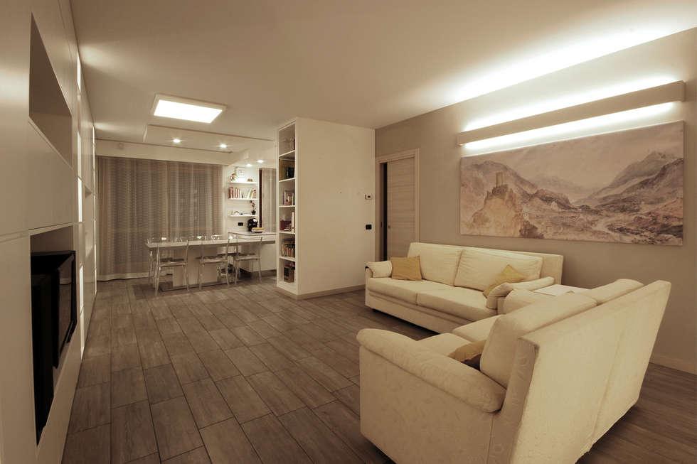 Idee arredamento casa interior design homify for Illuminazione soggiorno moderno
