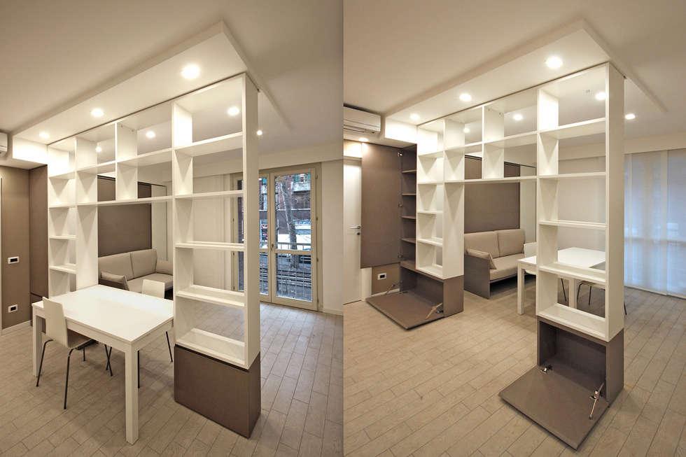 Pasillos y recibidores de estilo por jfd - juri favilli design | homify