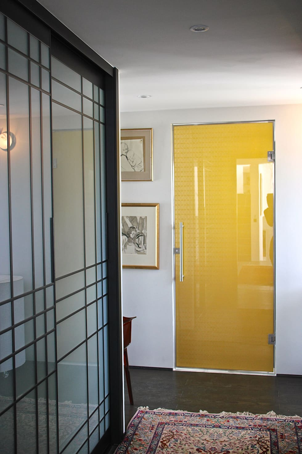 Glass doors by Alguacil & Perkoff Ltd.