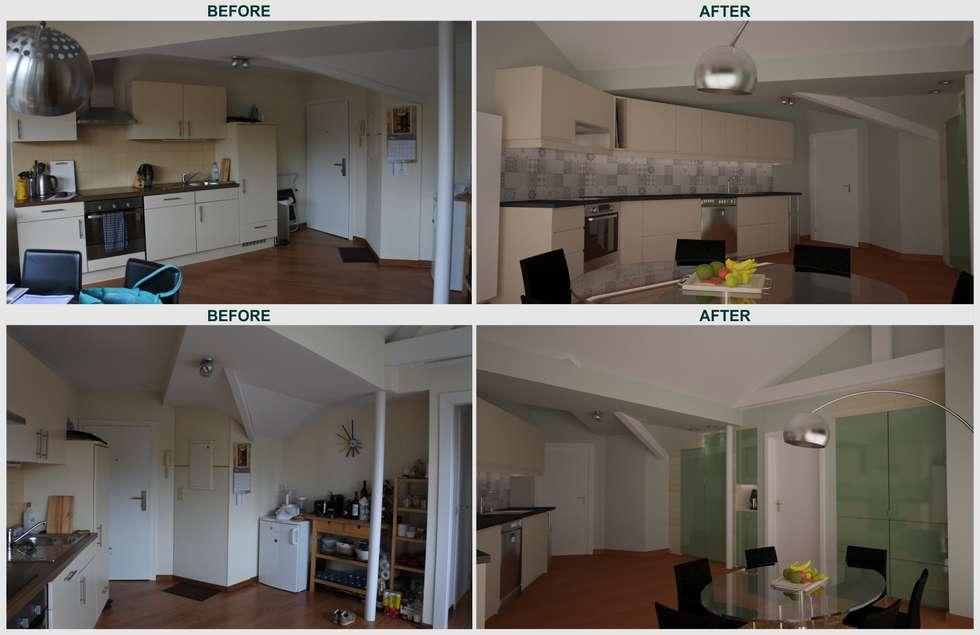 modern Kitchen by Isabel Gomez Interiors