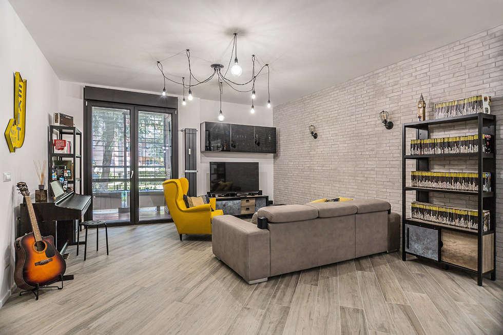 Idee arredamento casa interior design homify for Arredamento stile industriale roma