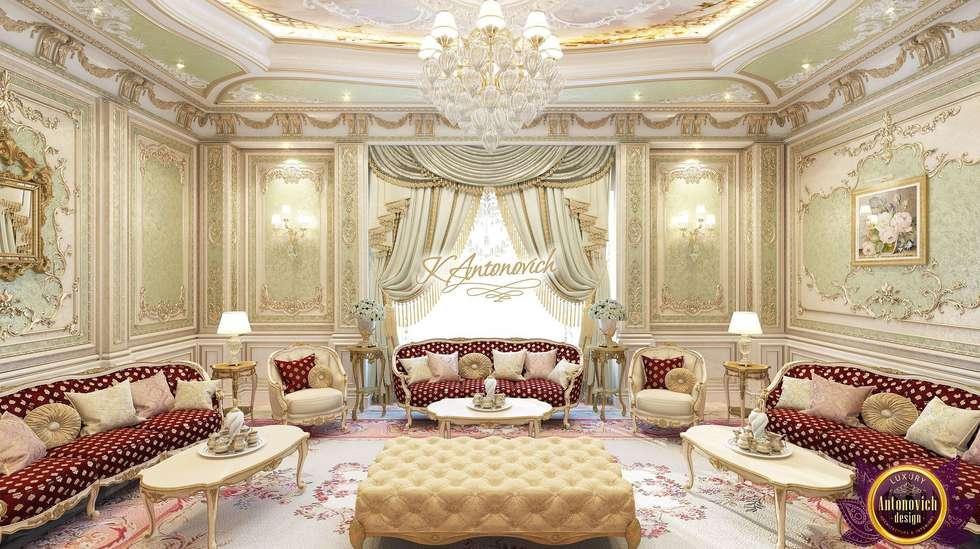Luxury Living Room Design Ideas From Katrina Antonovich: Classic Living  Room By Luxury Antonovich