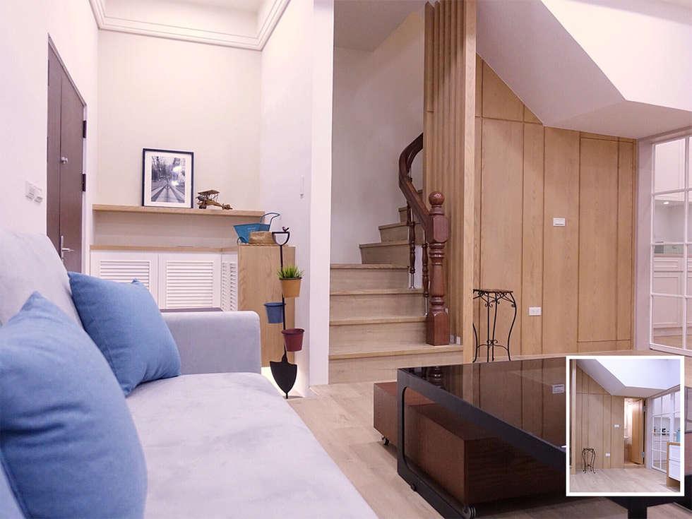 水木空間設計:  牆面 by 水木空間設計