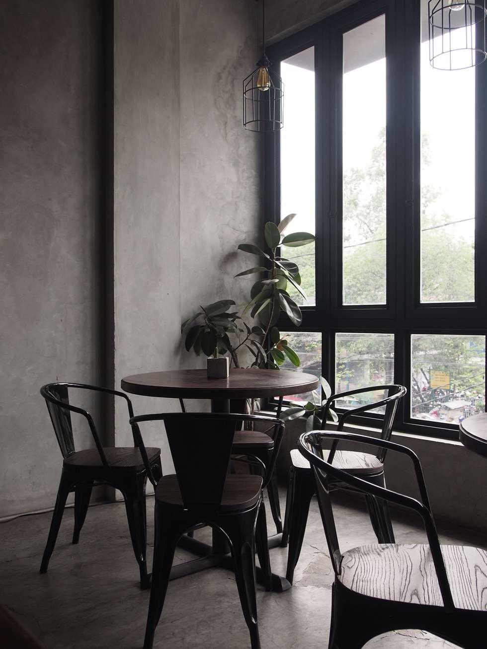 Cozy corner:  Restoran by Spasi Architects