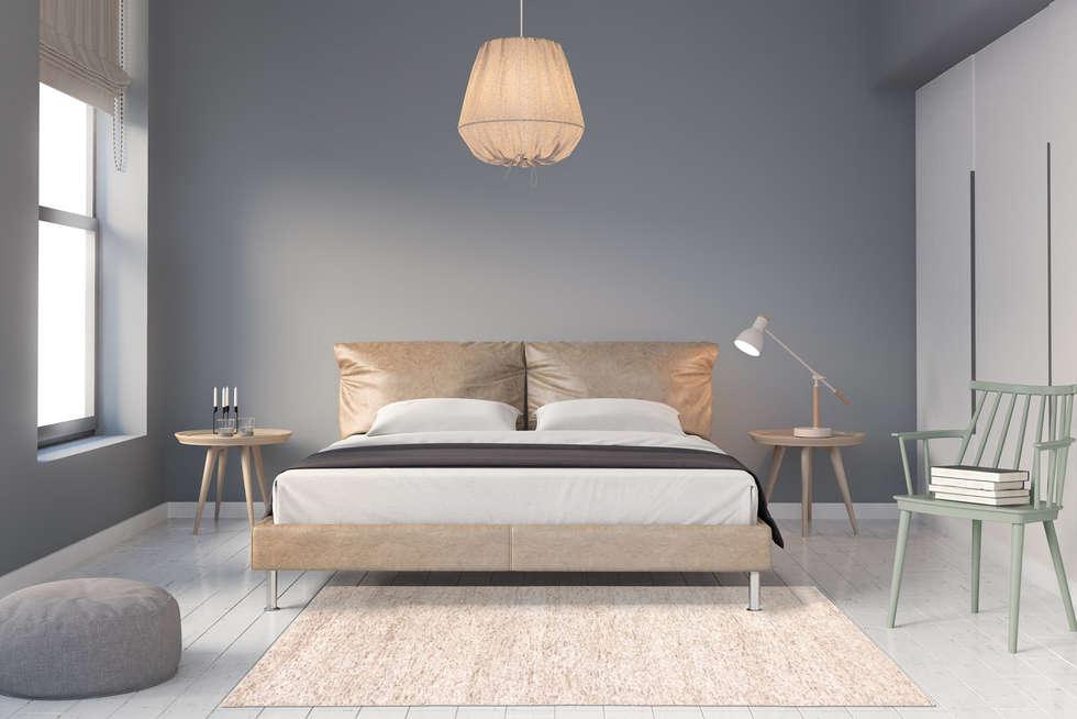 Streaked In Beige: Moderne Schlafzimmer Von Nain Trading GmbH