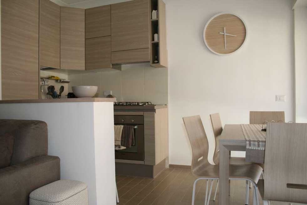 Soggiorno angolo cottura cucina in stile in stile moderno for Soggiorno angolo cottura