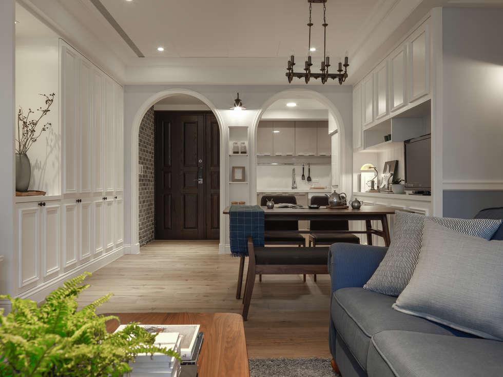 造型拱門:  室內門 by 存果空間設計有限公司