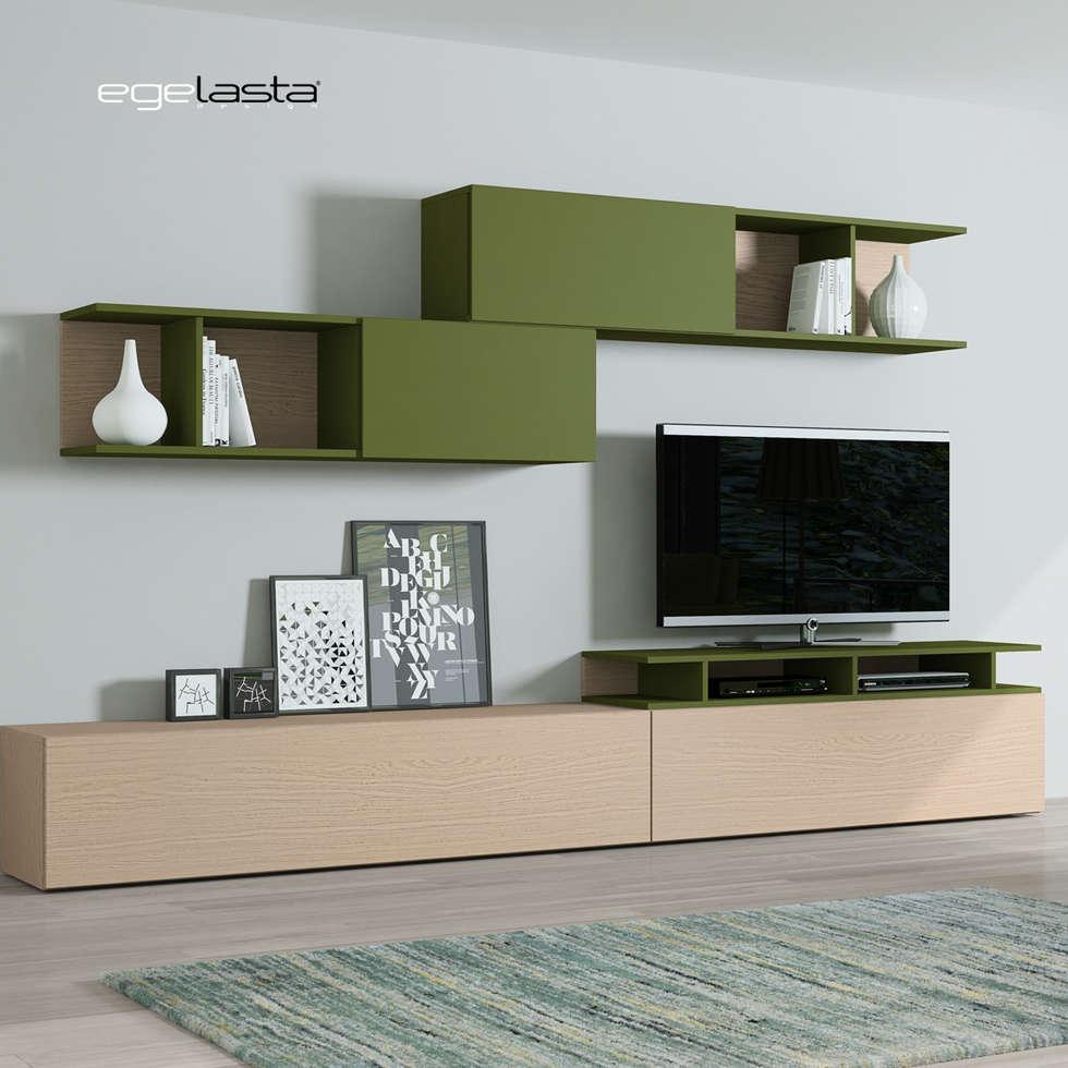 Interior Design Ideas Redecorating Remodeling Photos Homify # Muebles Living Comedor