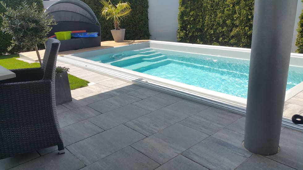 Wohnideen interior design einrichtungsideen bilder for 50m pool design