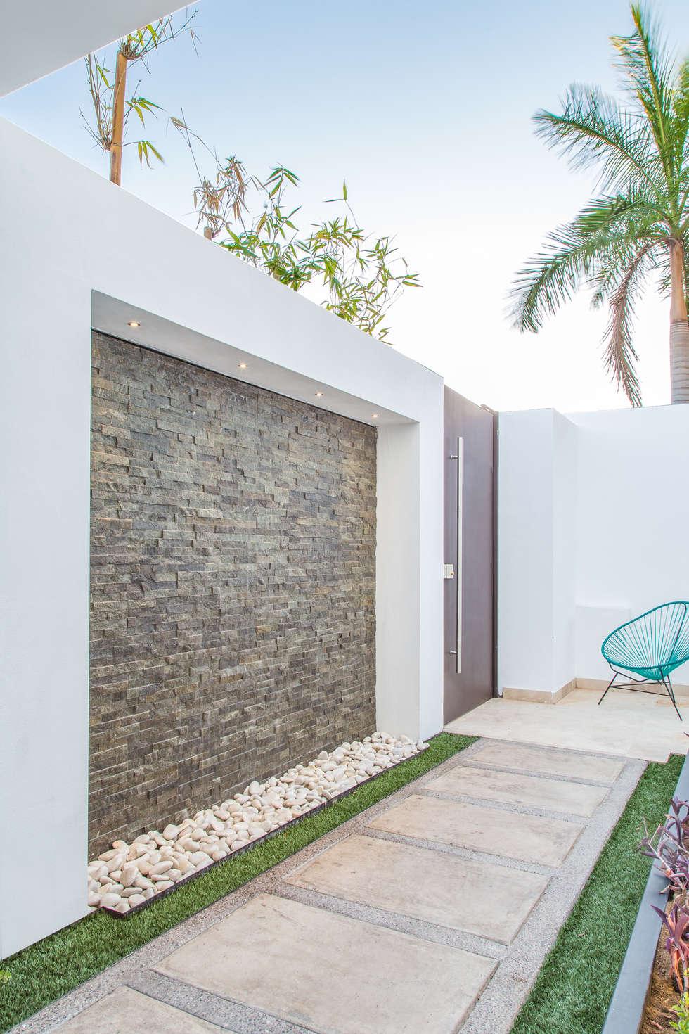 Ideas im genes y decoraci n de hogares homify for Tipos de piedras para paredes exteriores