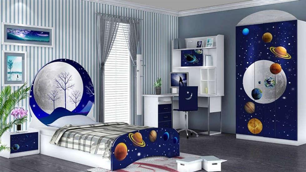 Mẫu nội thất phòng ngủ đẹp cho bé:  Phòng trẻ em by Thương hiệu Nội Thất Hoàn Mỹ