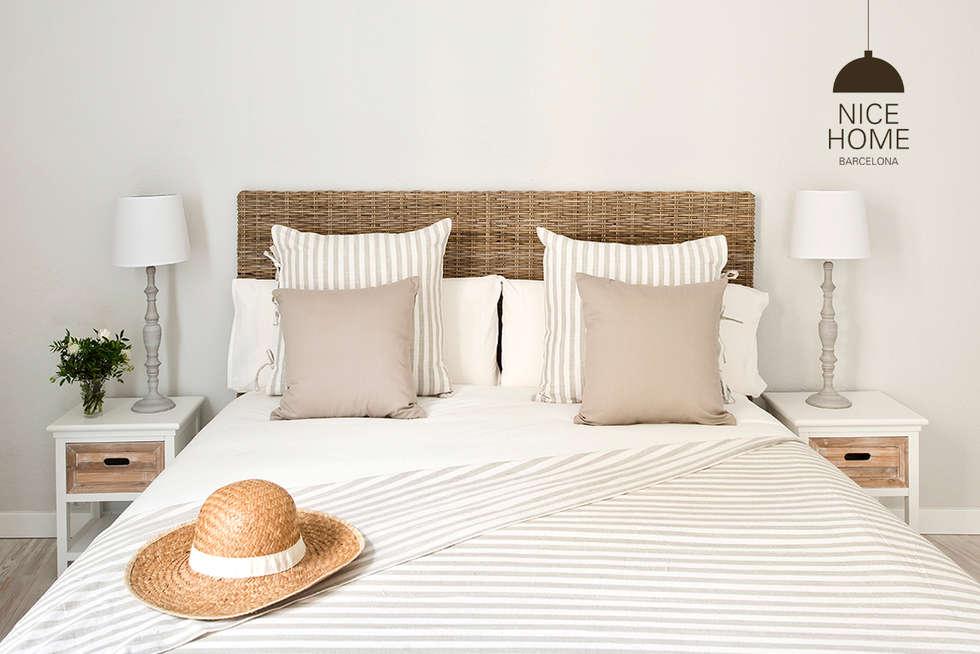 Habitaciones de estilo mediterráneo por Nice home barcelona