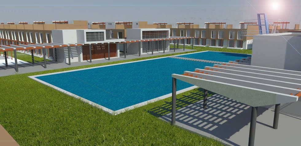 Multi-Family house by Bustos + Quintero arquitectos