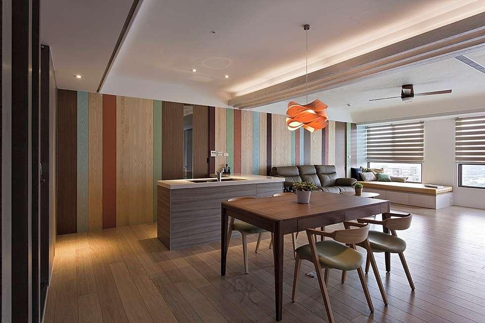 餐廳:  餐廳 by 禾光室內裝修設計 ─ Her Guang Design