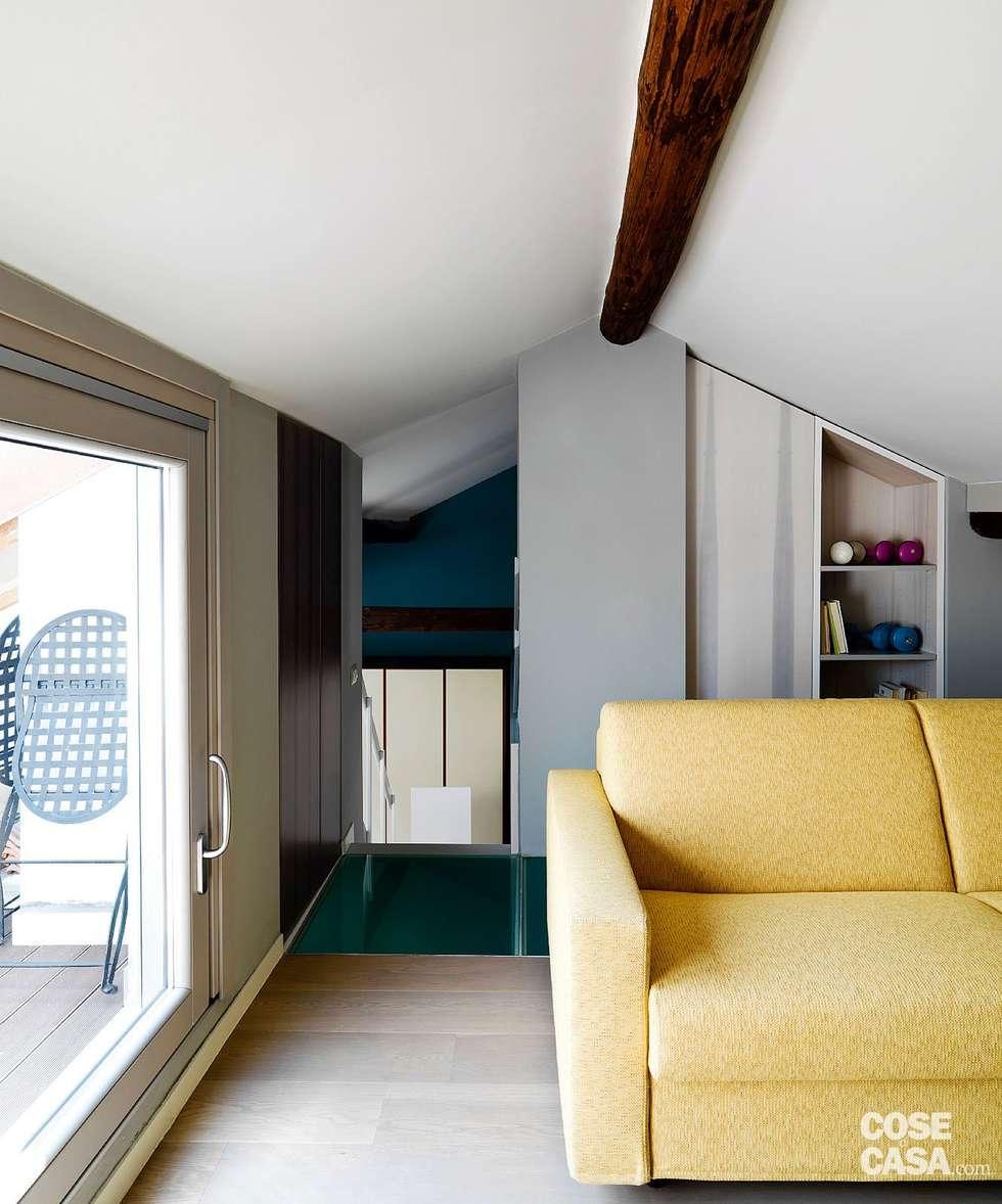 Arredare 40 mq di casa la casetta si estende per metri for Piccoli piani casa moderna casetta