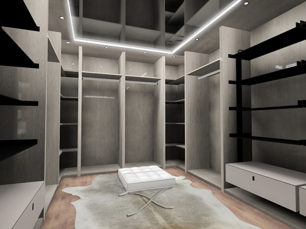Fotos de decoraci n y dise o de interiores homify for Interiores de closet de madera