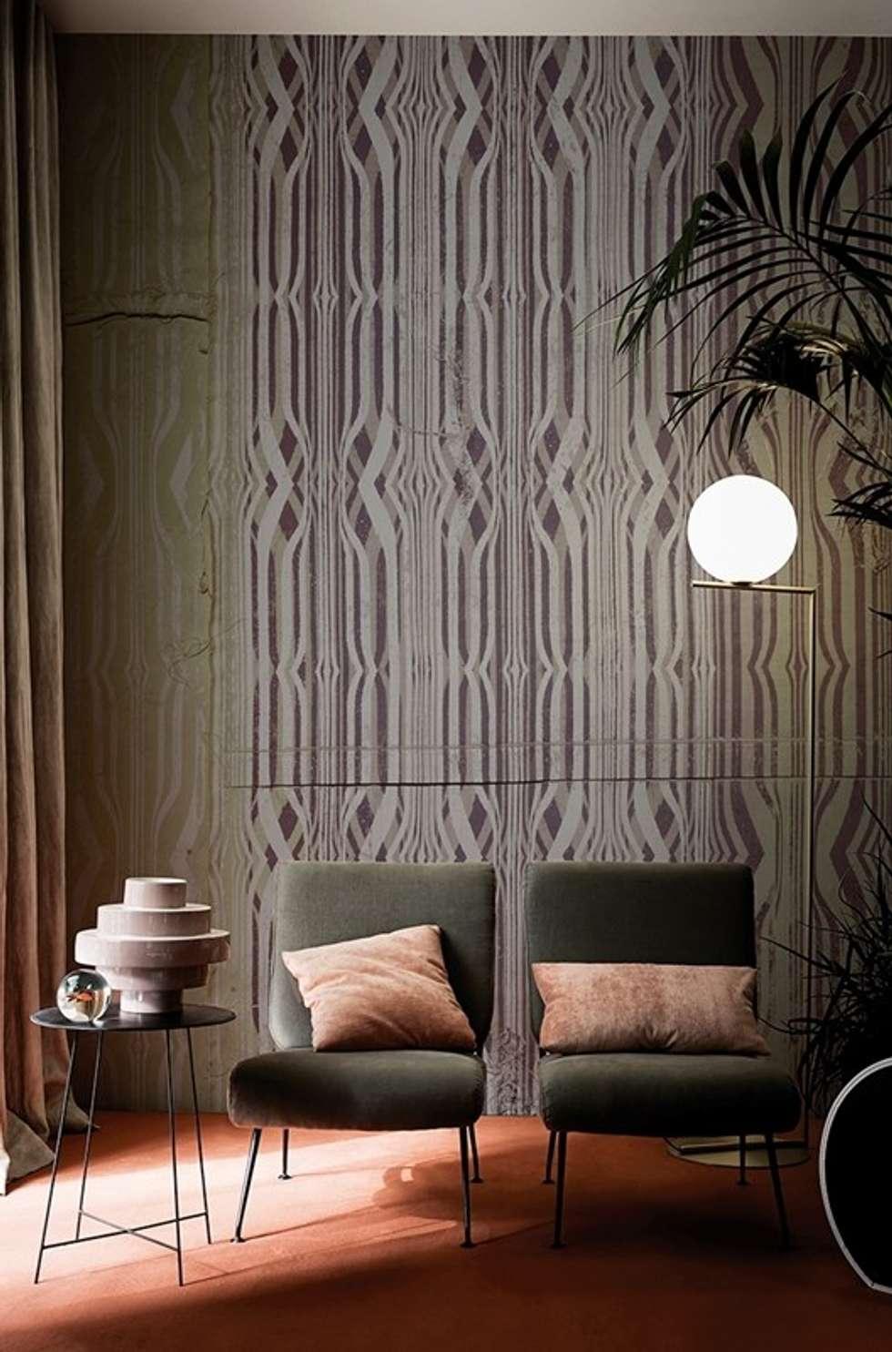 Verschiedene Ausgefallene Couch Dekoration Von Wall & Decò: Wohnzimmer Von Ihr Einrichter