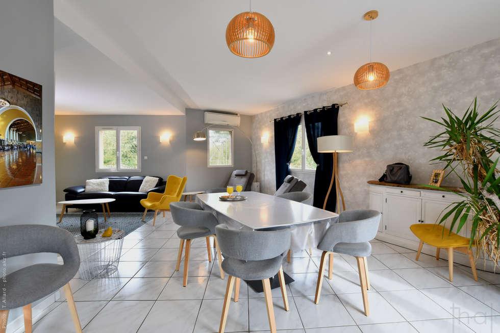 Photographie d'aménagement intérieur: Salle à manger de style de style Moderne par Thierry Allard photographe