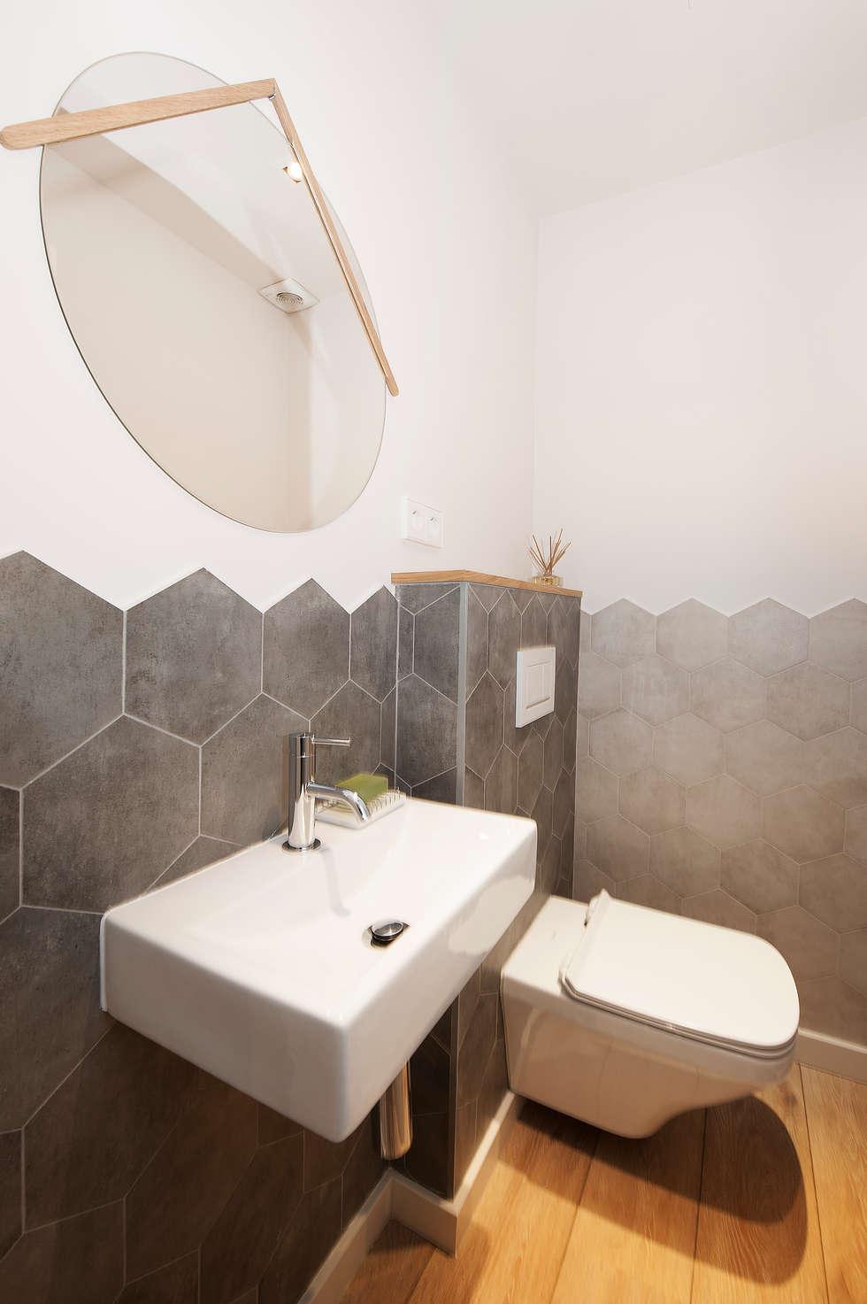 Fotos de decoraci n y dise o de interiores homify - Baldosas hexagonales ...
