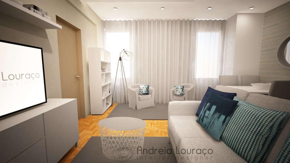 Modern Living Room By Andreia Louraço   Designer De Interiores (Contacto:  Atelier.andreialouraco