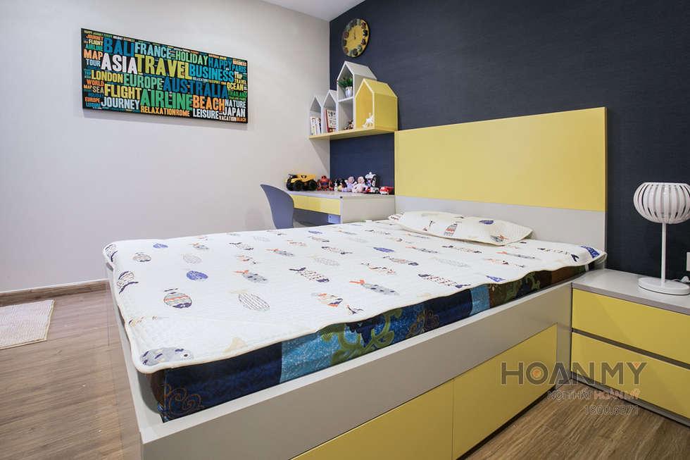 Thiết kế nội thất phòng ngủ trẻ em:  Phòng ngủ của trẻ em by Thương hiệu Nội Thất Hoàn Mỹ