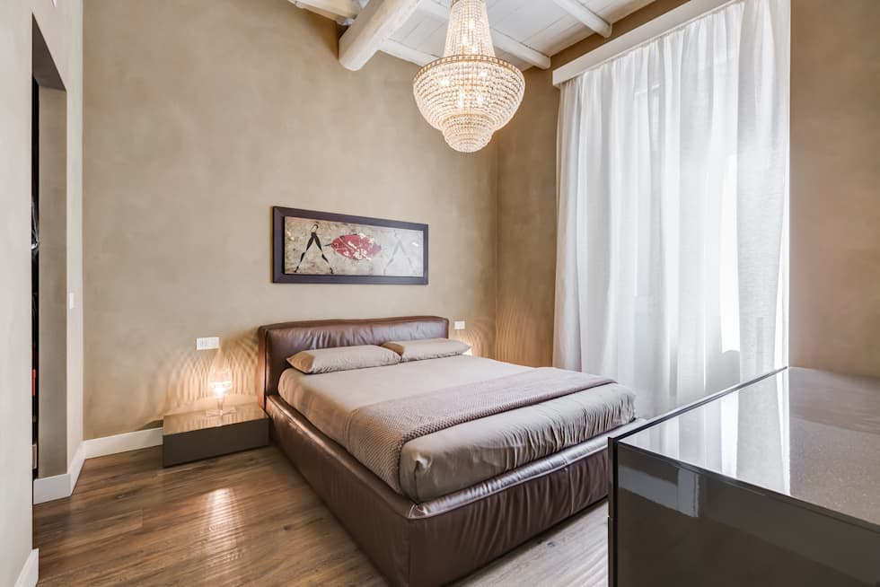 Idee arredamento casa interior design homify for Letto in stile artigiano