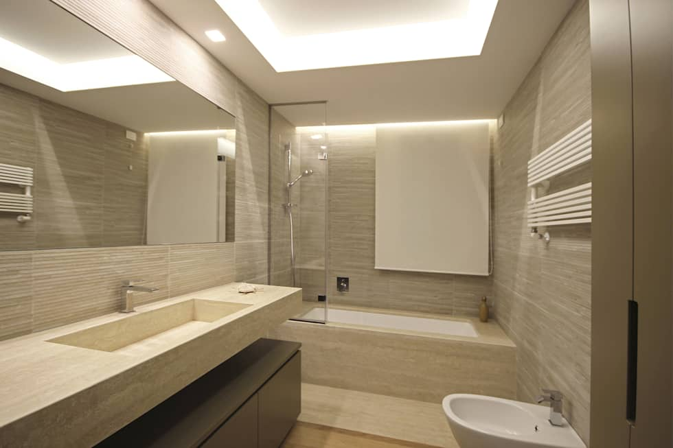 Idee arredamento casa interior design homify for Casa moderna bagni