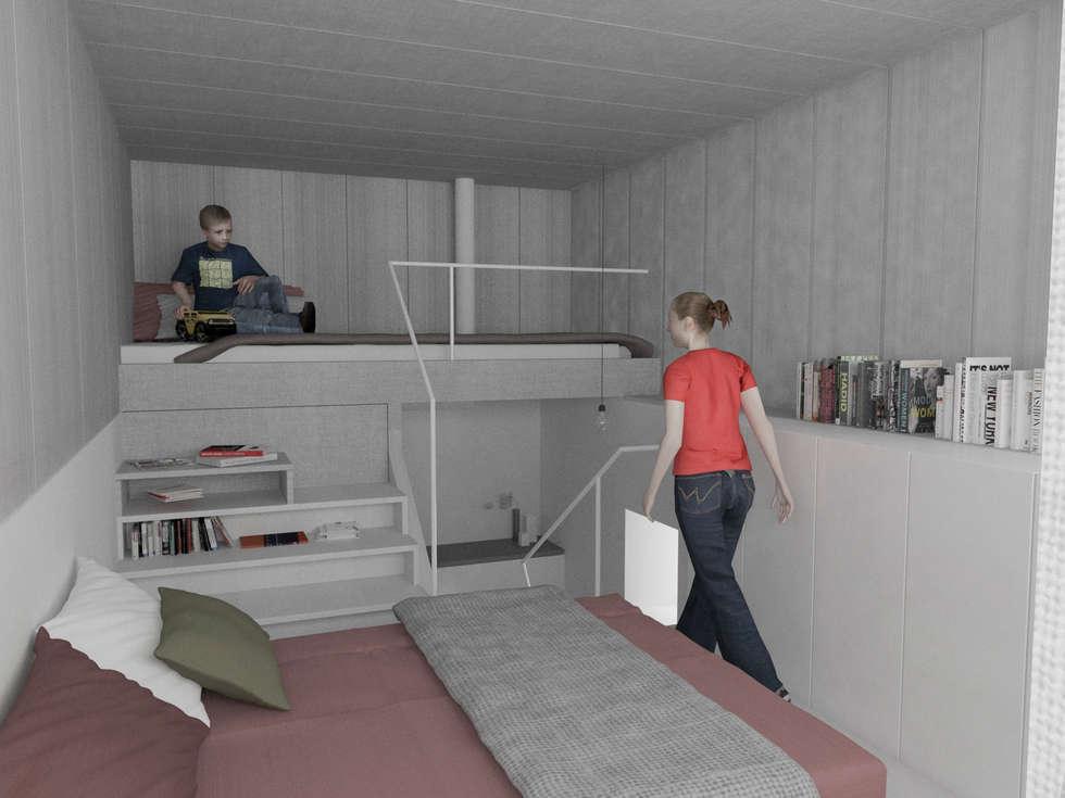 Fotos de decoraci n y dise o de interiores homify for Habitaciones juveniles nordicas