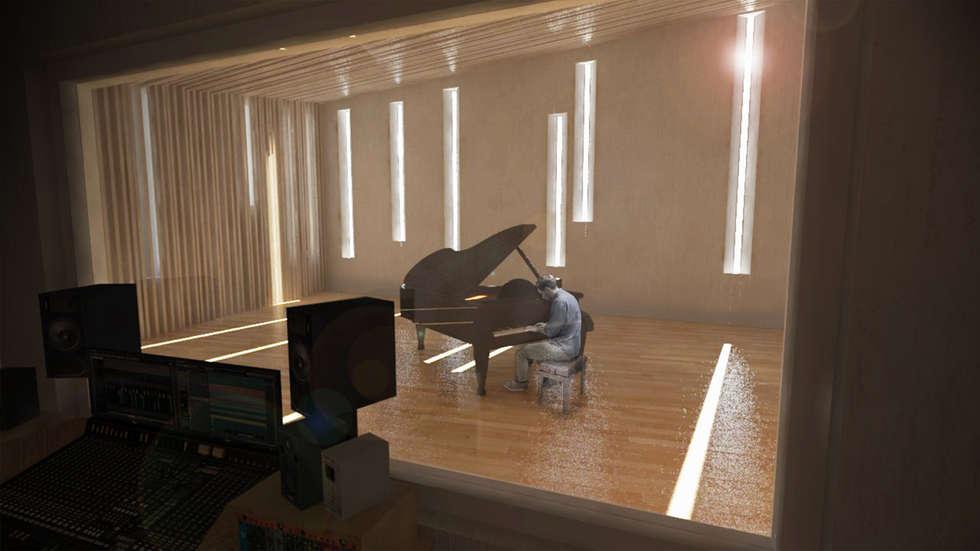 modern Conservatory by Bustos + Quintero arquitectos