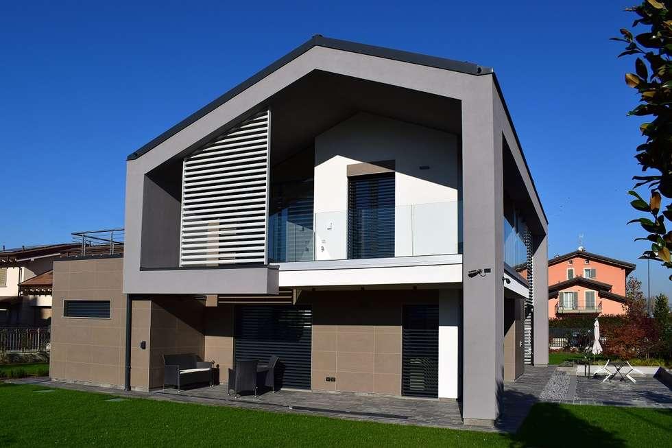 Idee arredamento casa interior design homify - Casa legno moderna ...