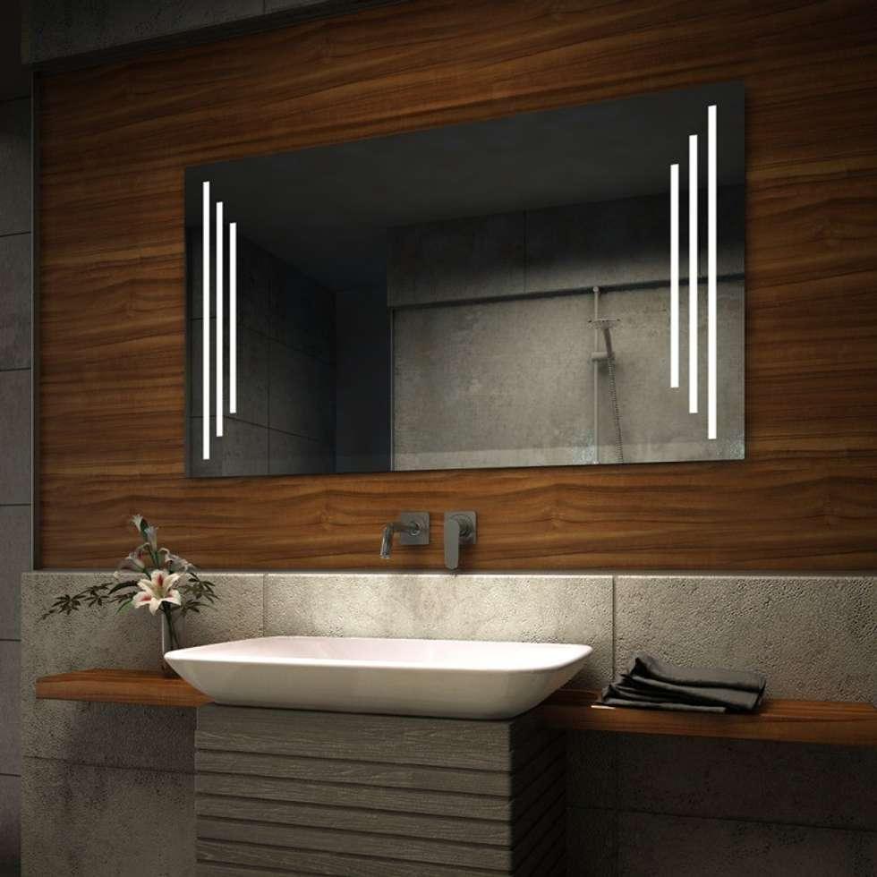 Fotos de decoraci n y dise o de interiores homify - Espejo bano luz integrada ...