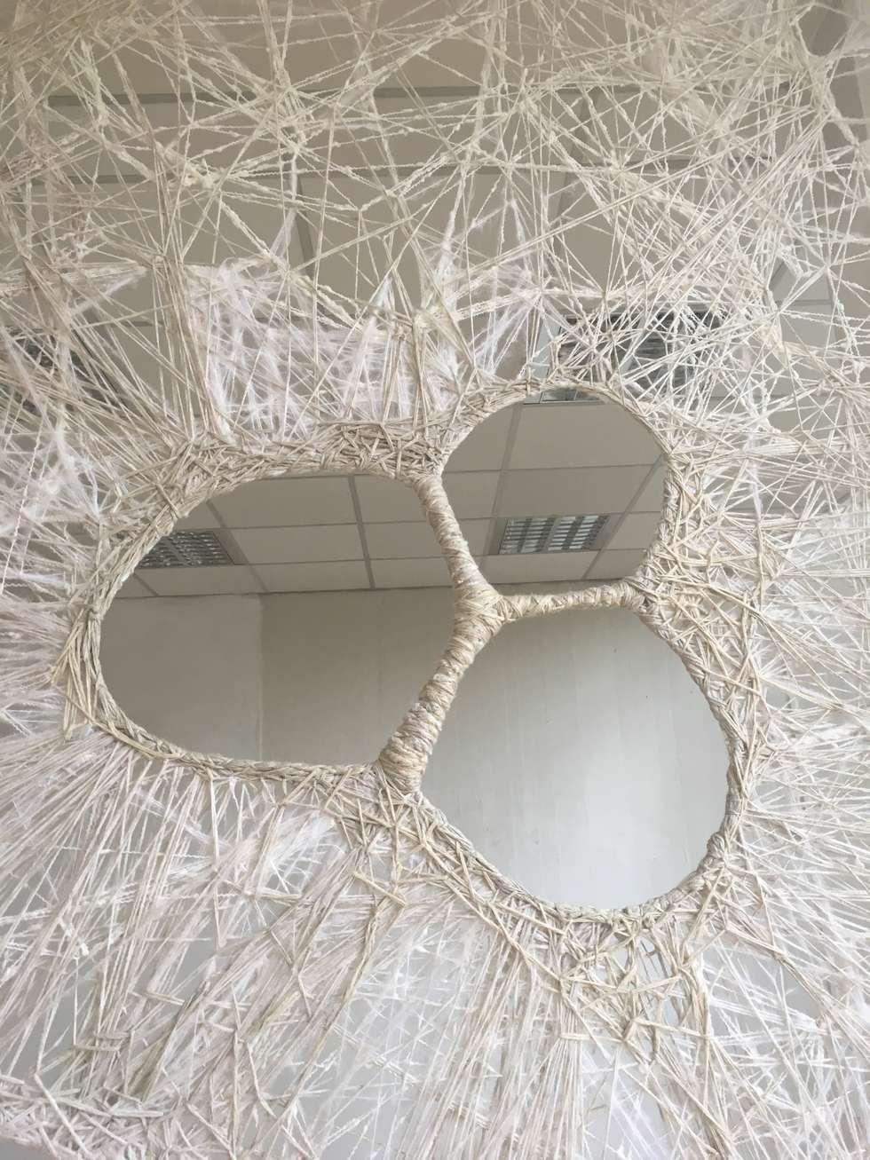 Sintonia.: Soggiorno in stile in stile Moderno di Gloria Campriani
