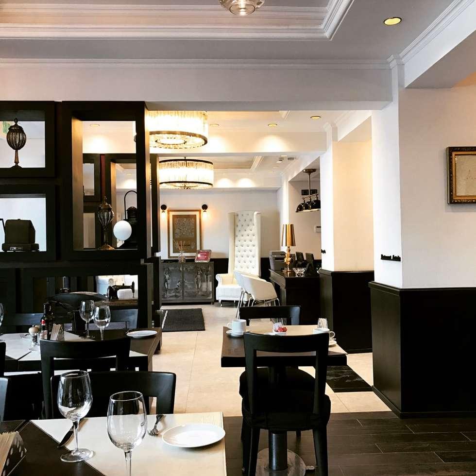 Restaurant Antaño / Sommelier Boutique: Restaurantes de estilo  por PICHARA + RIOS arquitectos