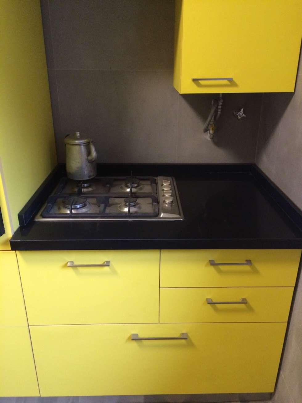 Mobiliario cocina: Muebles de cocinas de estilo  por PICHARA + RIOS arquitectos