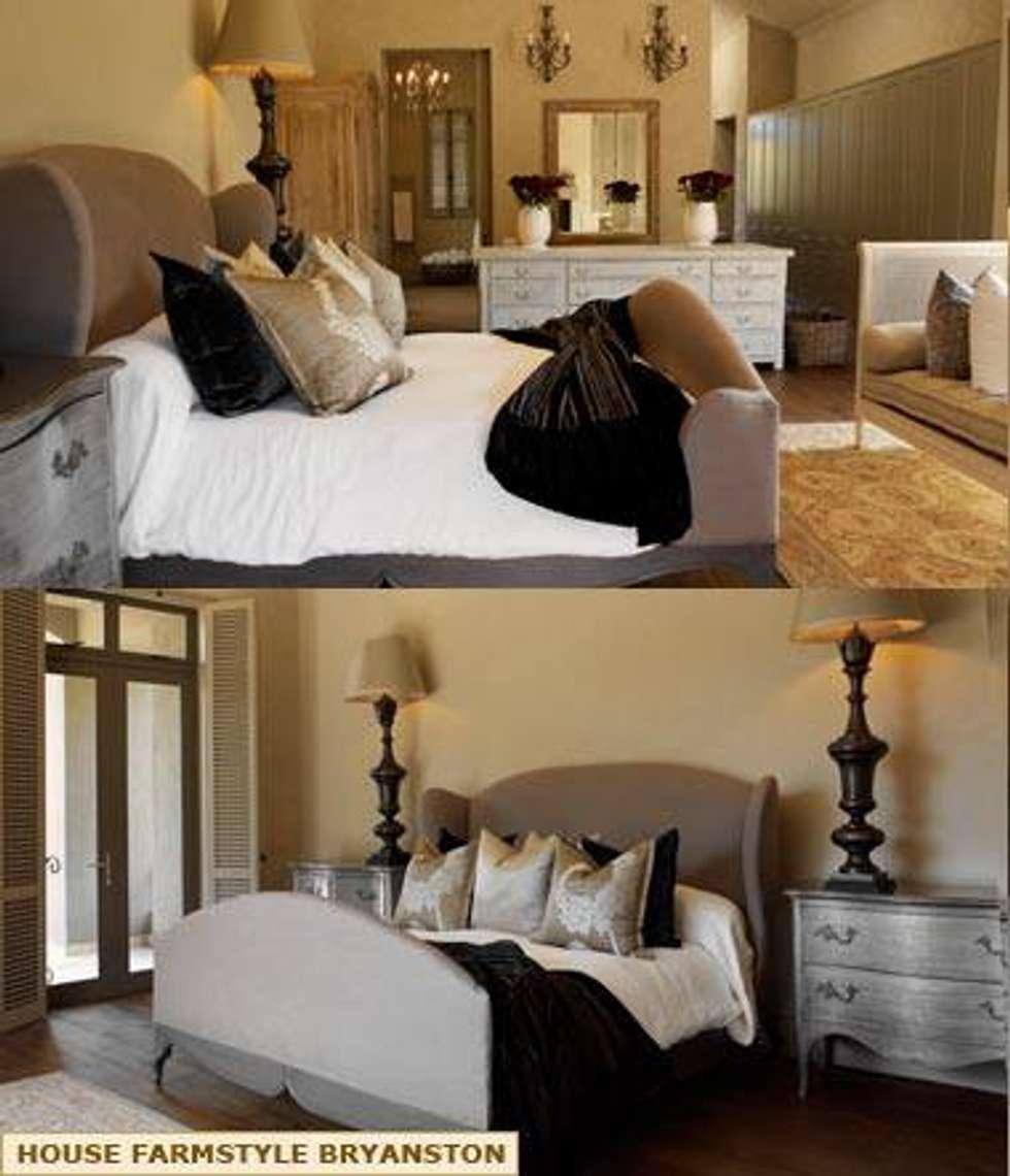 MAIN BEDROOM DESIGN: colonial Bedroom by Kiara Tiara by Tanja Tomaz