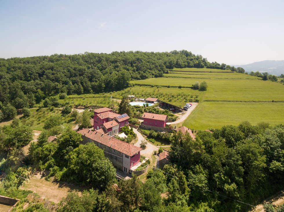 Progetto casa di campagna cool cascine crema da drone for Ville di campagna progetti