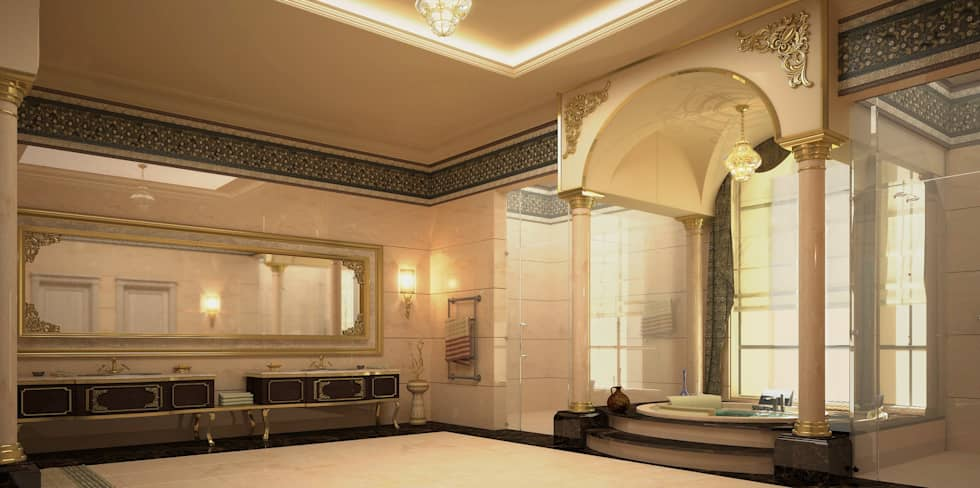 classic Bathroom by SPACES Architects Planners Engineers