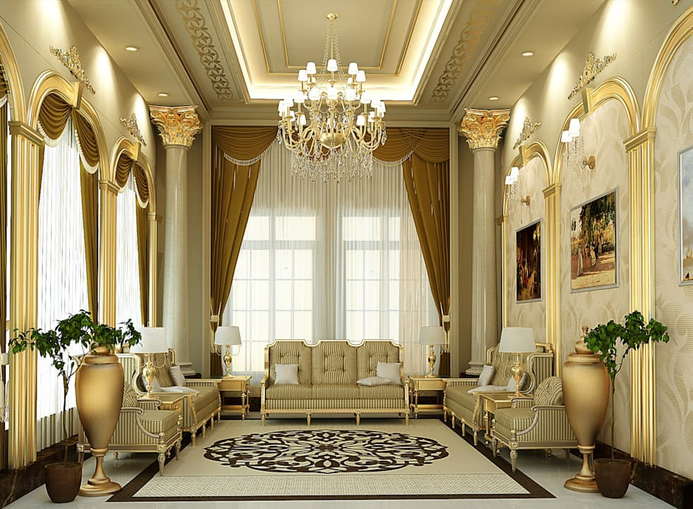 classic Living room by SPACES Architects Planners Engineers