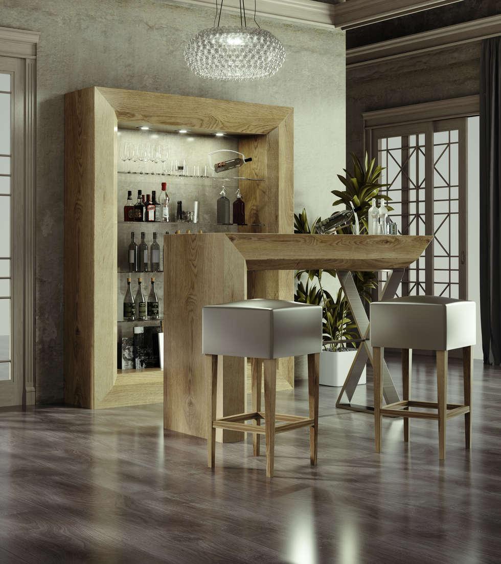 Barras De Bar Para Casas Decoracion Perfect Resultado De Imagen  # Muebles Coperos