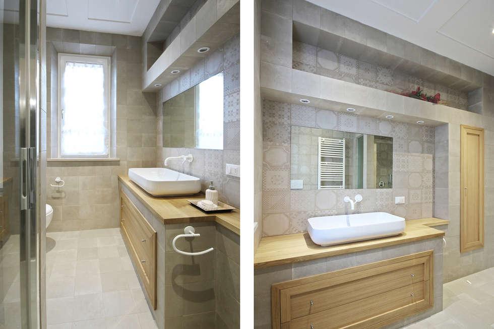 Idee arredamento casa interior design homify - Bagno country chic ...