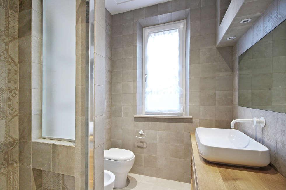 Bagno country moderno bagno in stile in stile country di jfd