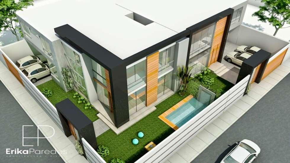 Vista Aerea: Condominios de estilo  por EPG  Studio