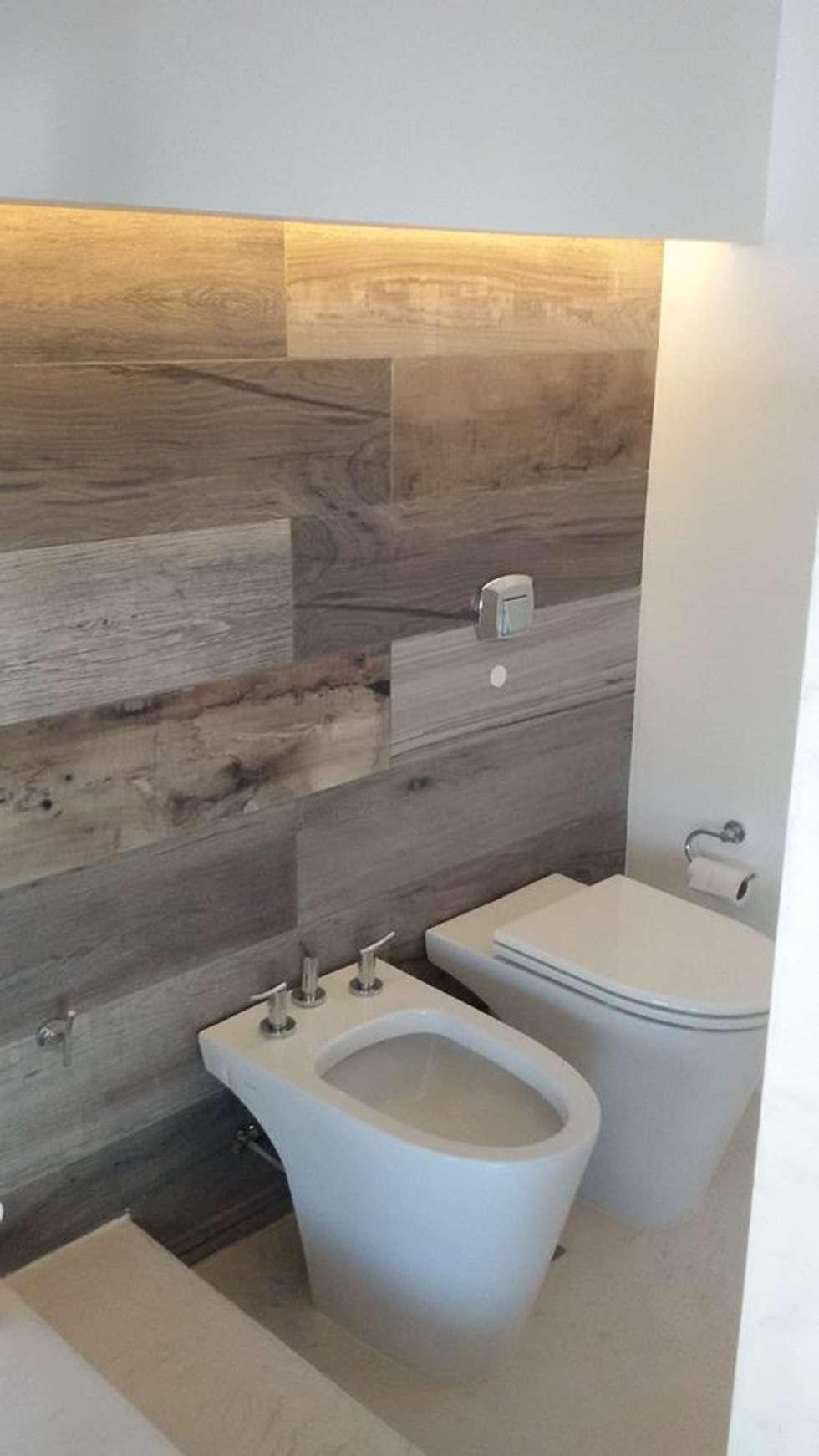 Baño Secotrizado: Baños de estilo moderno por Estudio A+I