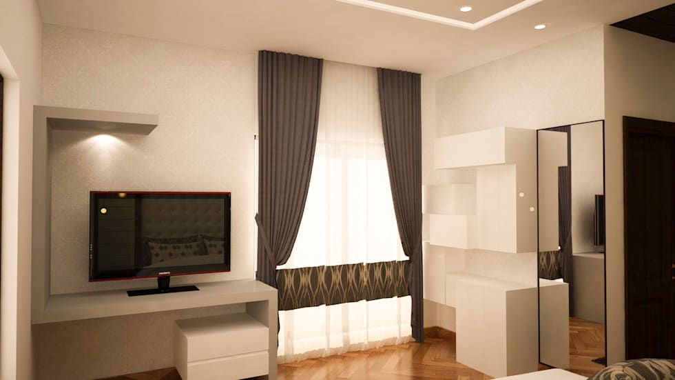 Window and curtains :  Windows by NVT Quality Build solution