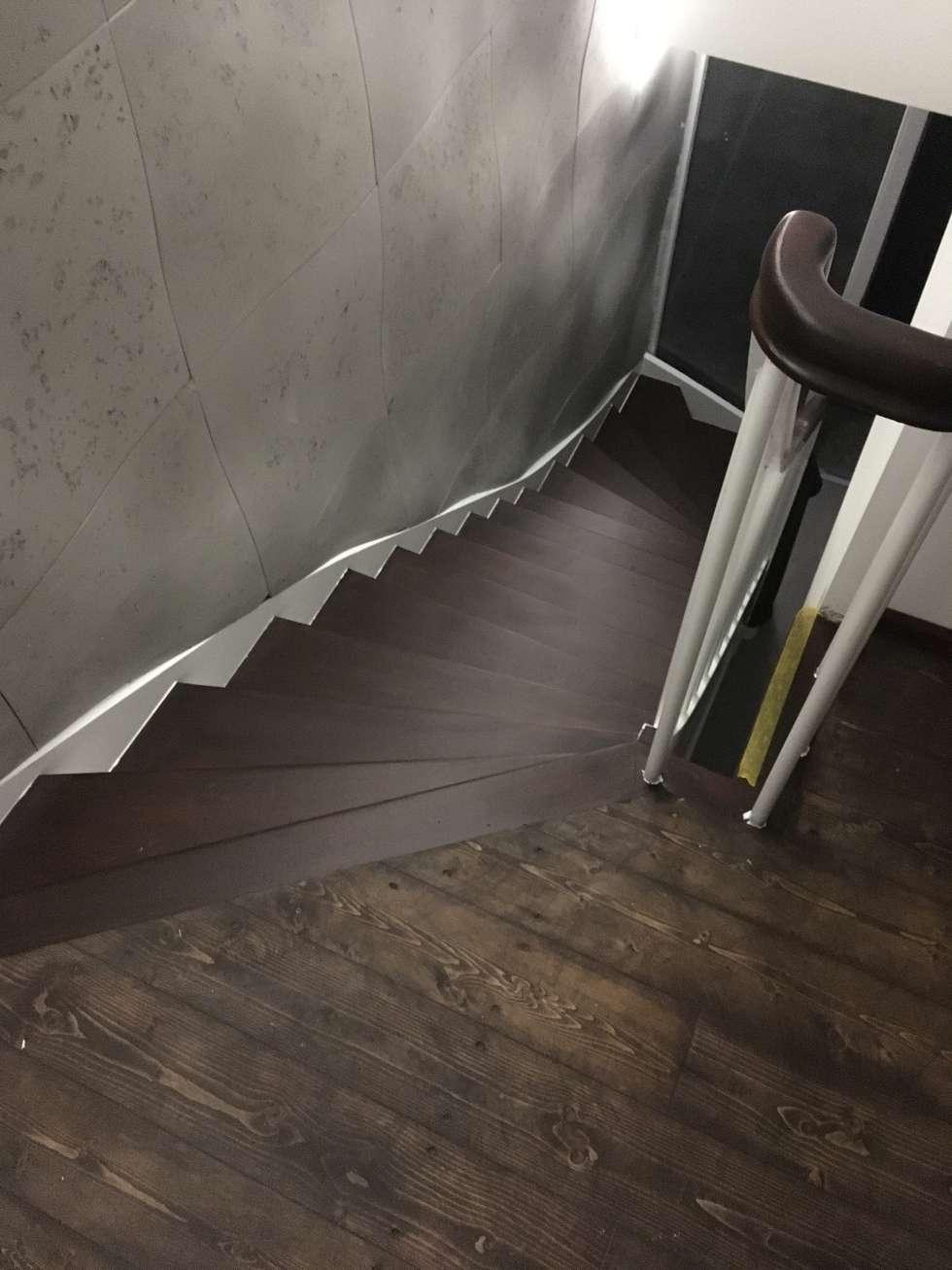 Wandgestaltung treppenhaus flur  Wandgestaltung - treppenhaus, gang, fluor: klassischer flur, diele ...
