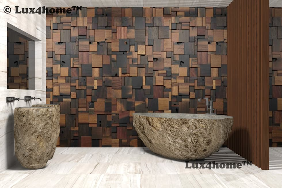 : minimalistic Bathroom by Lux4home™ Indonesia